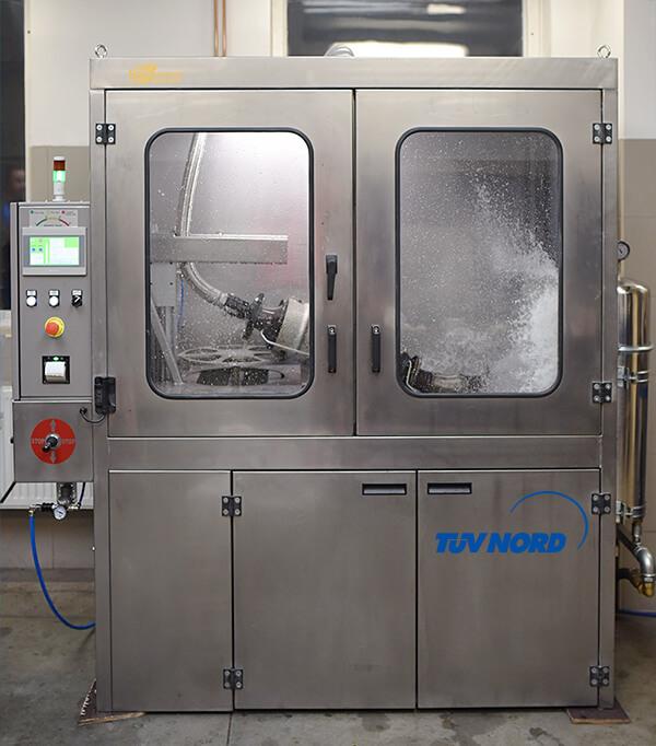 Stroj na čištění DPF — filtrů pevných částic